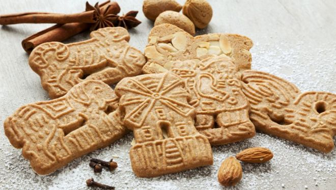 Speculaas cookies biscuits in Amsterdam
