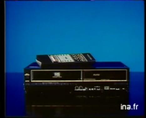 Magnetoscope Amstrad VCR6000 (1988)