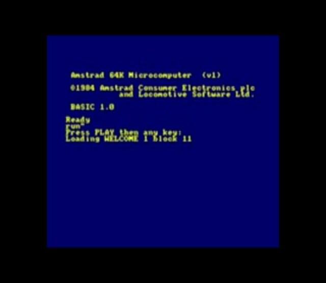 K7 de démo Amstrad