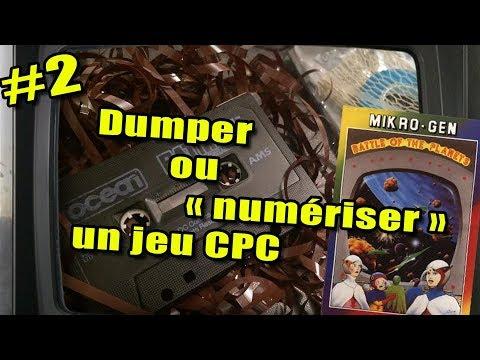 Restauration K7 #2 – DUMPER UN JEU CASSETTE : L'outil CSW2CDT = préservation des jeux