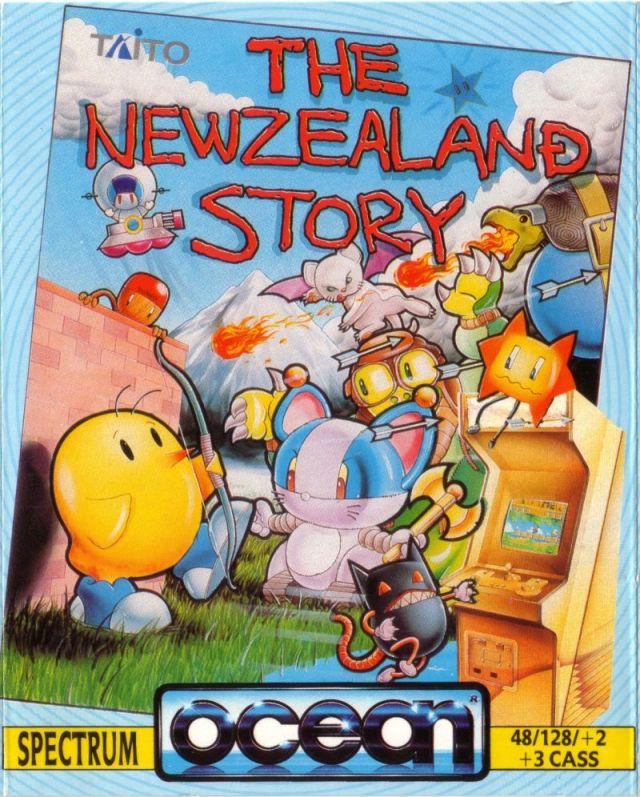 S02E07 – Y'a pas qu'Amstrad dans la vie – The New Zealand Story