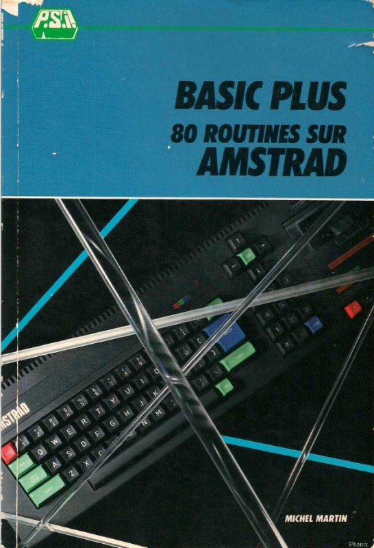 BASIC Plus 80 routines sur Amstrad