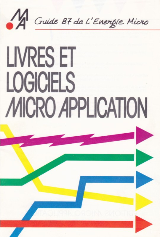 Catalogue Micro-Application 1987