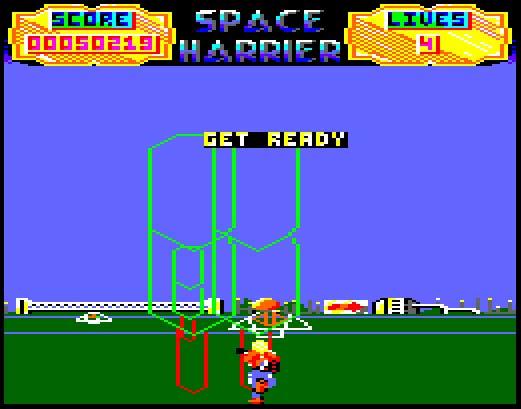 Space Harrier (Test de PacoRabanne)