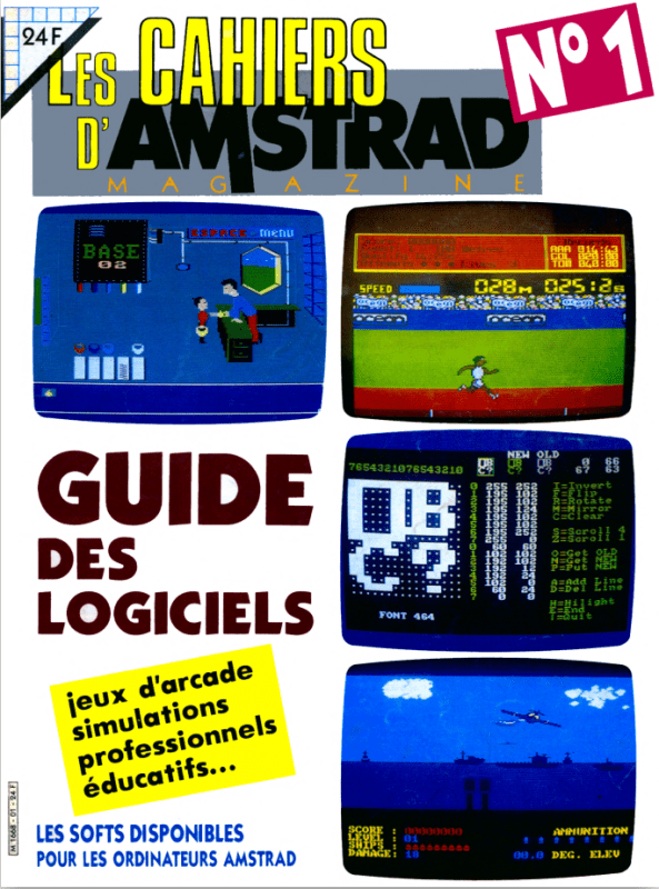Les cahiers d'amstrad magazine n°01