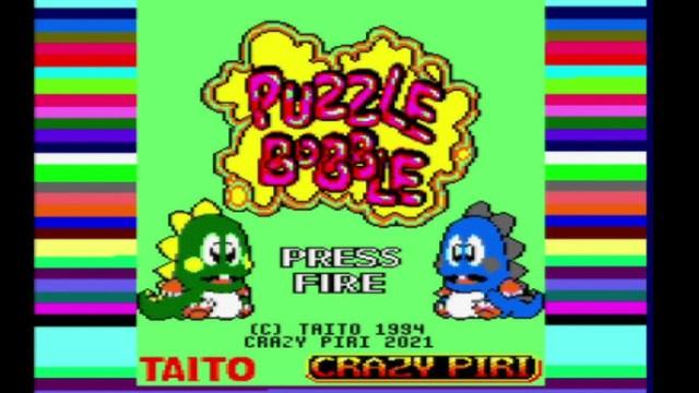 Puzzle Bobble sur CPC