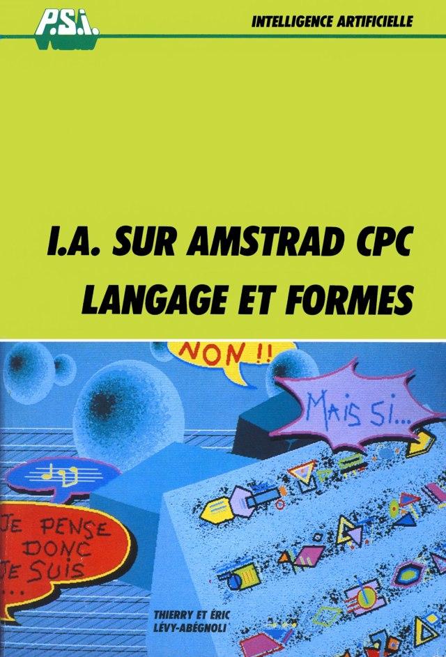 Nouveau livre : I.A. sur AMSTRAD CPC