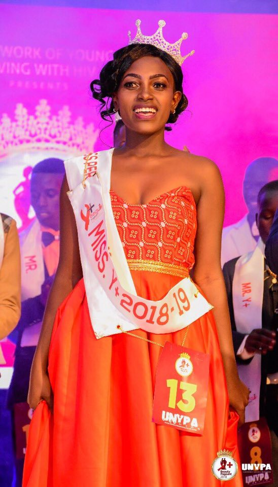On Friday 23rd November 2018, Vivian Nabanoba was crowned Miss Y+ in the  just concluded UNYPA Y+ Pageant at the Kampala Sheraton Hotel.