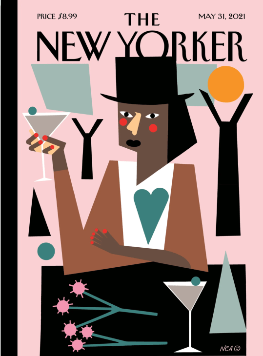 MFA Fine Arts alumni Nina Chanel Abney is featured in the New Yorker Magazine