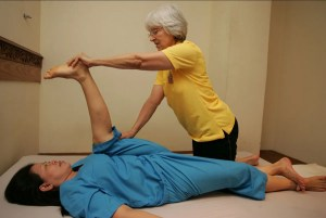 Demo of a Thai Massage session