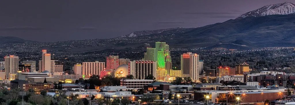 Reno City Skyline