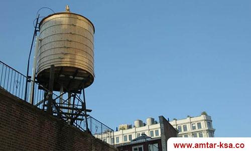 اشكال تسربات المياه للخزانات