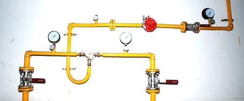 تمديد وصيانة شبكات الغاز المركزي