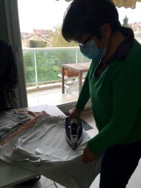 Repassage papier cuisson