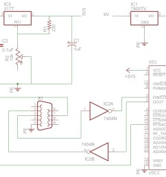 make the circuit shown in the schematic on a breadboard and if you re using [ 1542 x 1173 Pixel ]