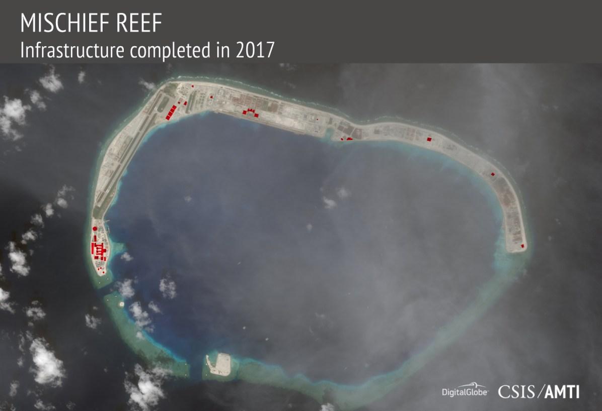 Mischief Reef, November 16, 2017