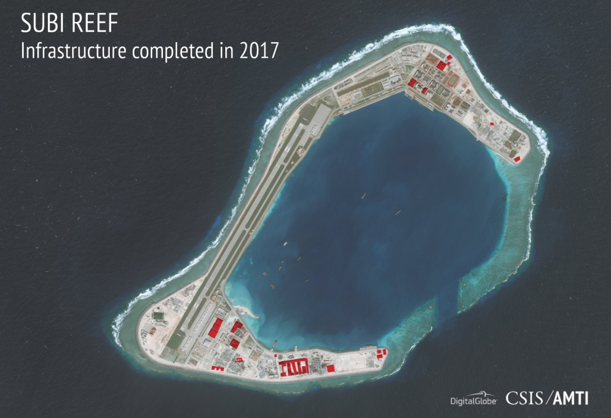 China build artificial islands in South China Sea - Page 5 Subi_12_7_2017_aboveground