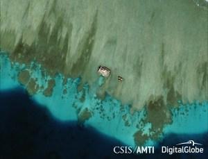 Mischief Reef Detail