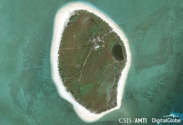 Nanshan Island Before