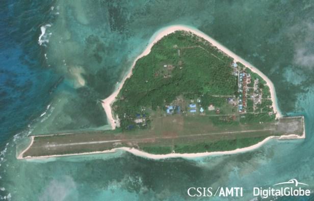 Thitu Island Before