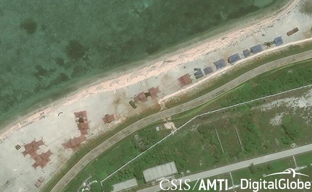 Woody Island North Beach Detail