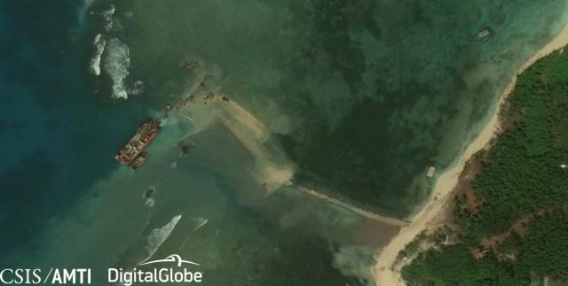 Thitu Island Ramp, Dec 14 2018