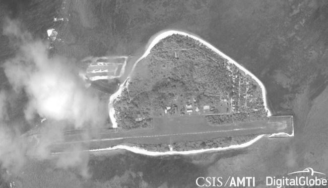 Thitu Island, January 11, 2019