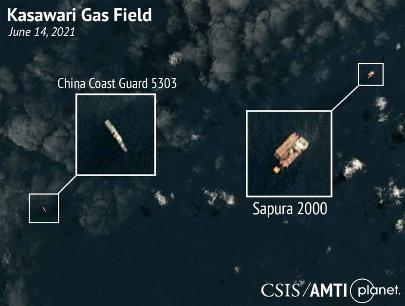 Kasawari Gas Field, June 14, 2021