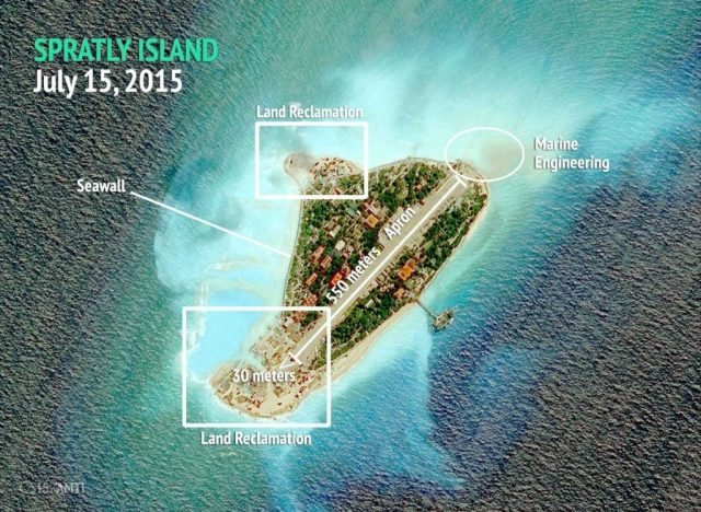 Spratly Island, July 15, 2015