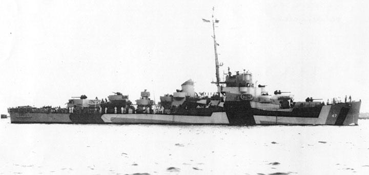 USS Decker 1940s