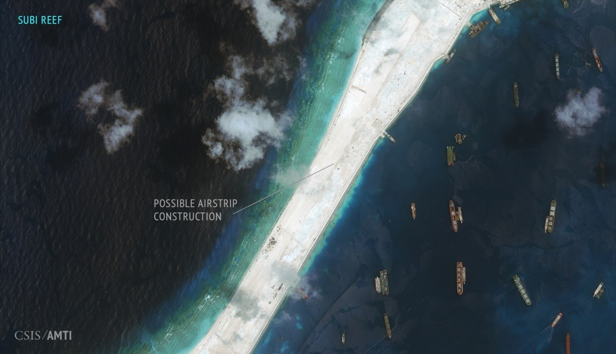 SUBI REEF. September 3, 2015