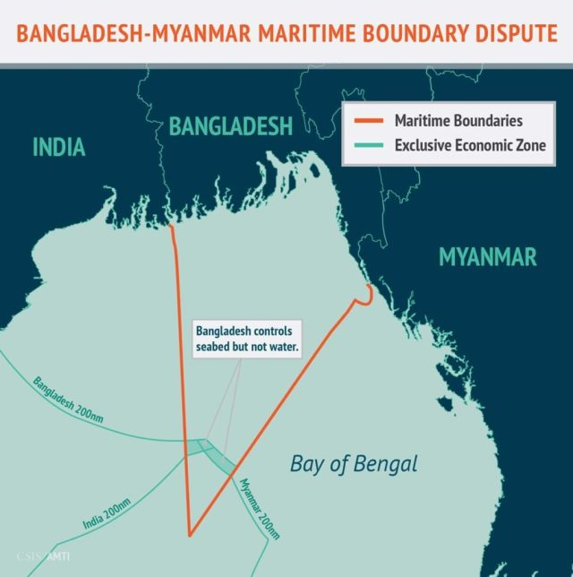Bangladesh-Myanmar Maritime Boundary Dispute