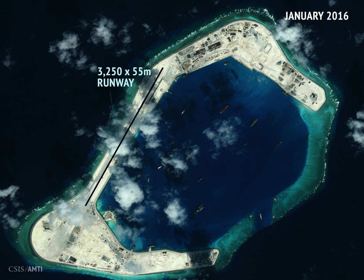 Subi Reef as of January 8.