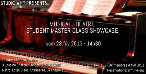STUDIO AMT showcase 23 fév 2013 full