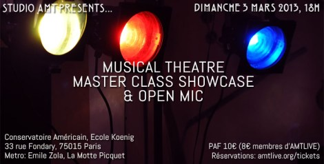 STUDIO AMT showcase 3 mars 2013 full