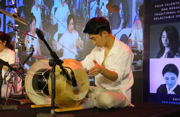 Soloists Live Performance, Korean traditional music with a contemporary twist at Swargamandapam