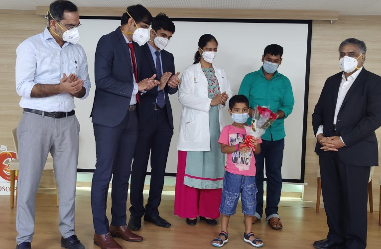 GEM Hospital performed rare surgery for a 6yr old Kid