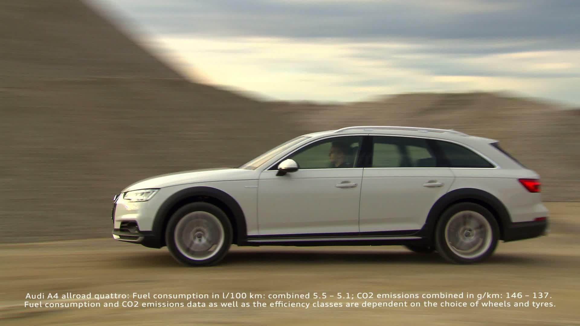 the new audi a4 allroad quattro all round car with off road capabilities video audi mediatv [ 1920 x 1080 Pixel ]