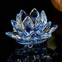 Flor De Loto en Cristal - Amuletos y Talismanes