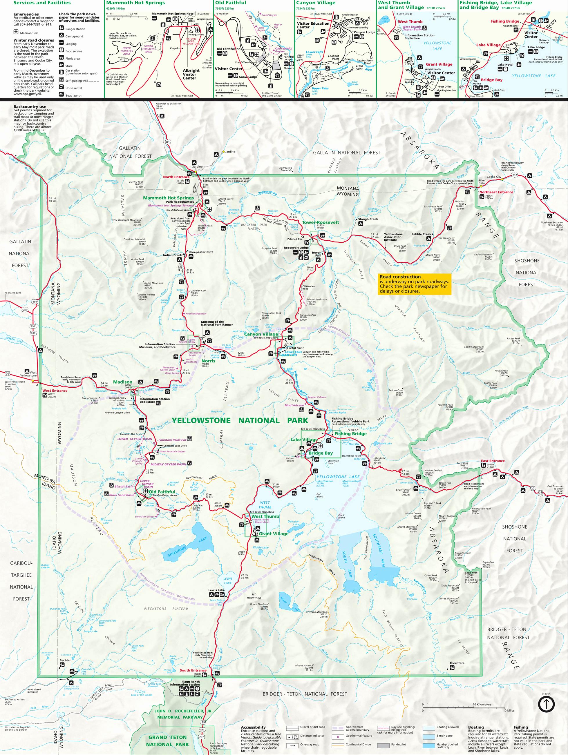 Yellowstone National Park Worksheet