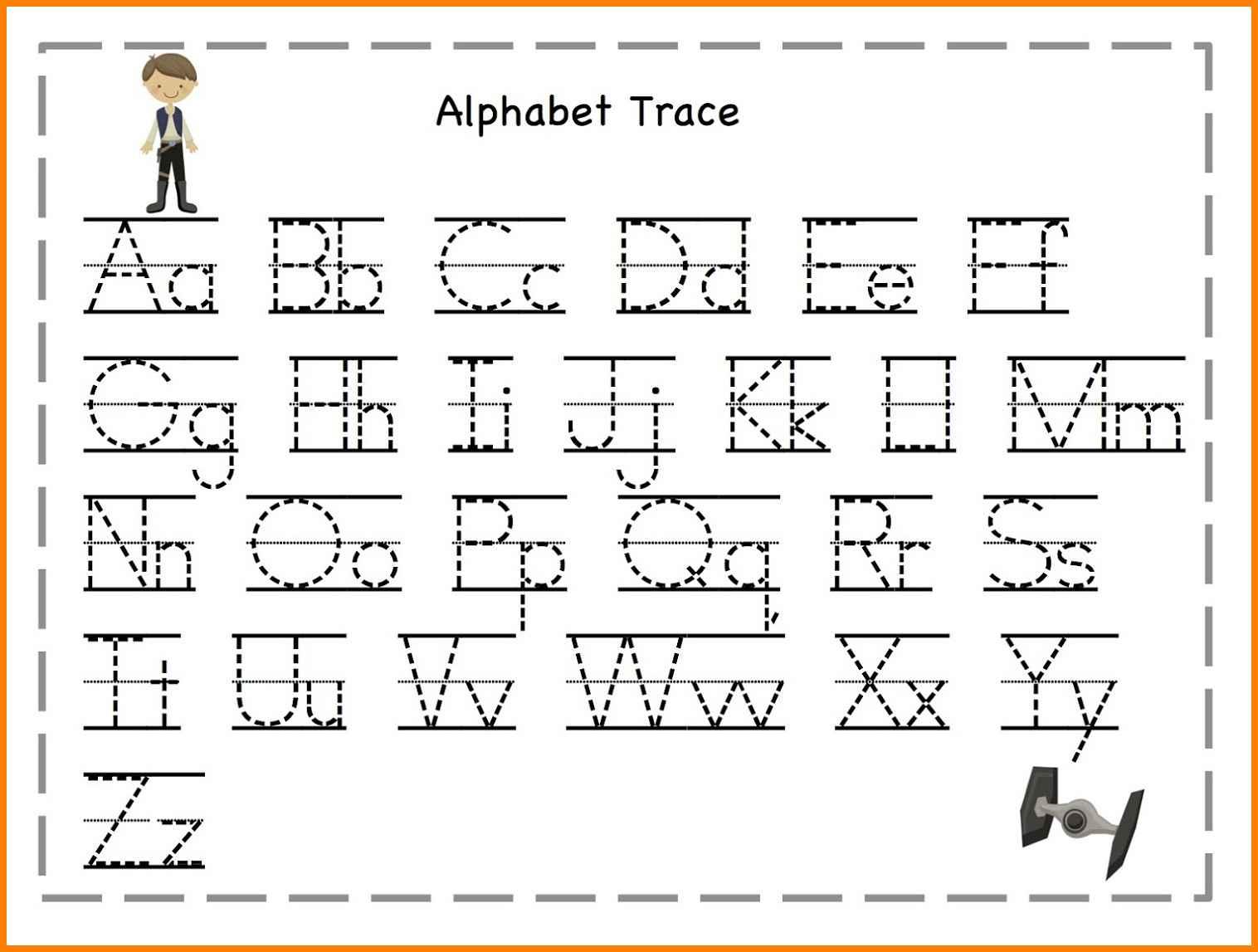 Trace Alphabet Letters