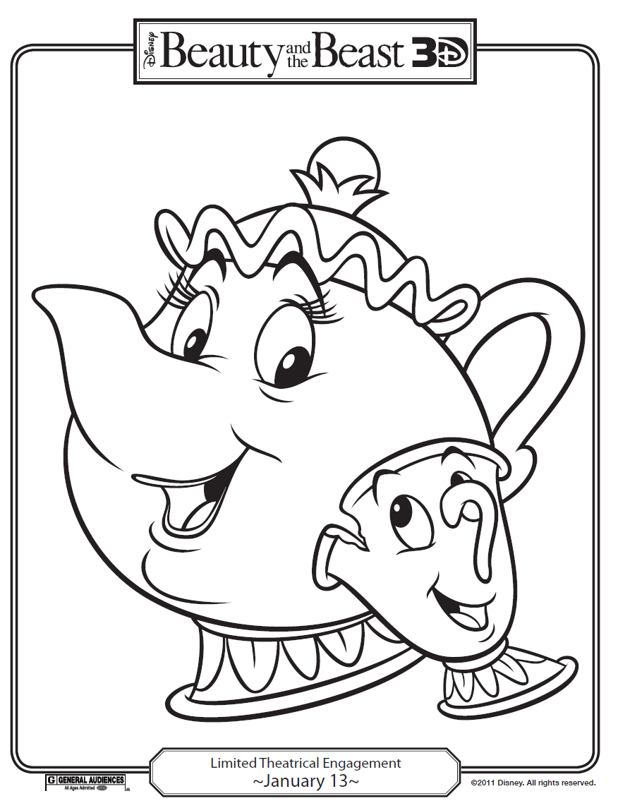 WP images: Coloring pages disney