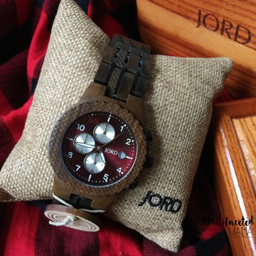JORD unique wood watches for men coupon and giveaway