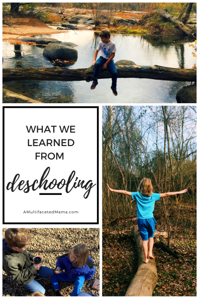 What We Learned From Deschooling- Why Deschooling helped our homeschool