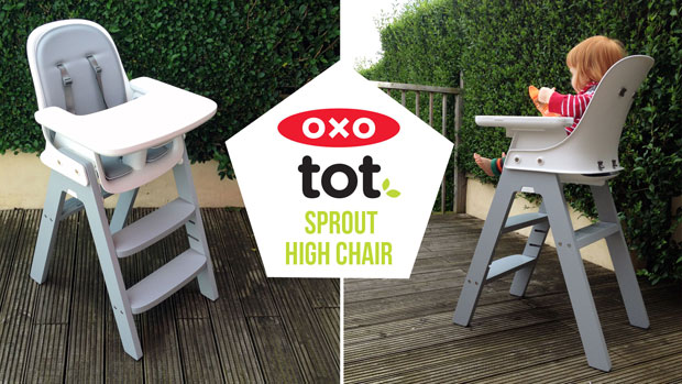 OXO Tot Sprout High Chair Review  Video Demonstration  A