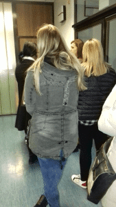 The line in the waiting room of an IVF clinic in Croatia
