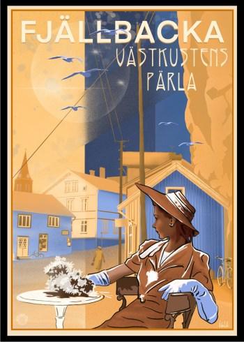 Fjällbacka Poster