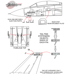 set of stiffeners for any model of f 14 tomcat in 1 48  [ 1241 x 1748 Pixel ]