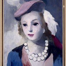 Дівчина у береті, Марі Лорансен, близько 1940-1956