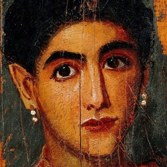 Портрет молодой женщины, вторая половина II в.